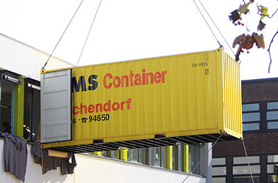 container an kran